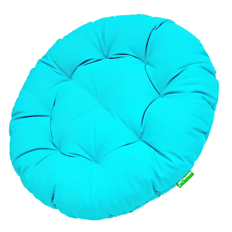 Nệm yoga tròn (xanh ngọc)